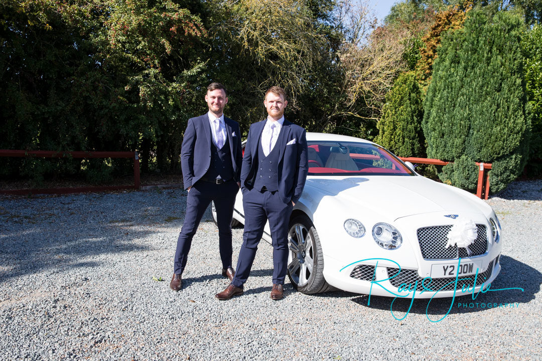 Danny and Jaffa arrive in a Bentley at Lazaat Hotel
