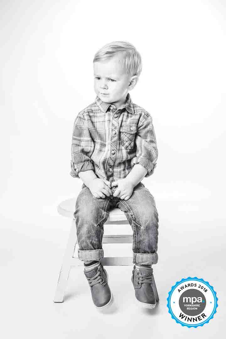 Under 5's award winning portrait photography Yorkshire  - Hull - Beverley