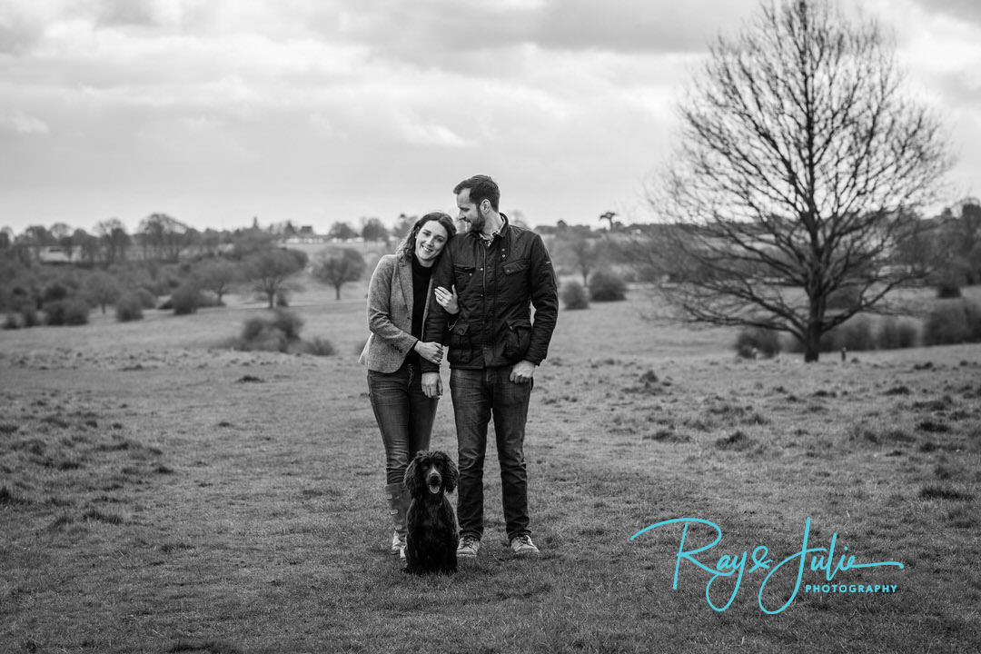 Black and white - Monochrome -Engagement - Pet - Photography - Photograph - Photographers - Yorkshire - Hull - Beverley - Ray and Julie Photography