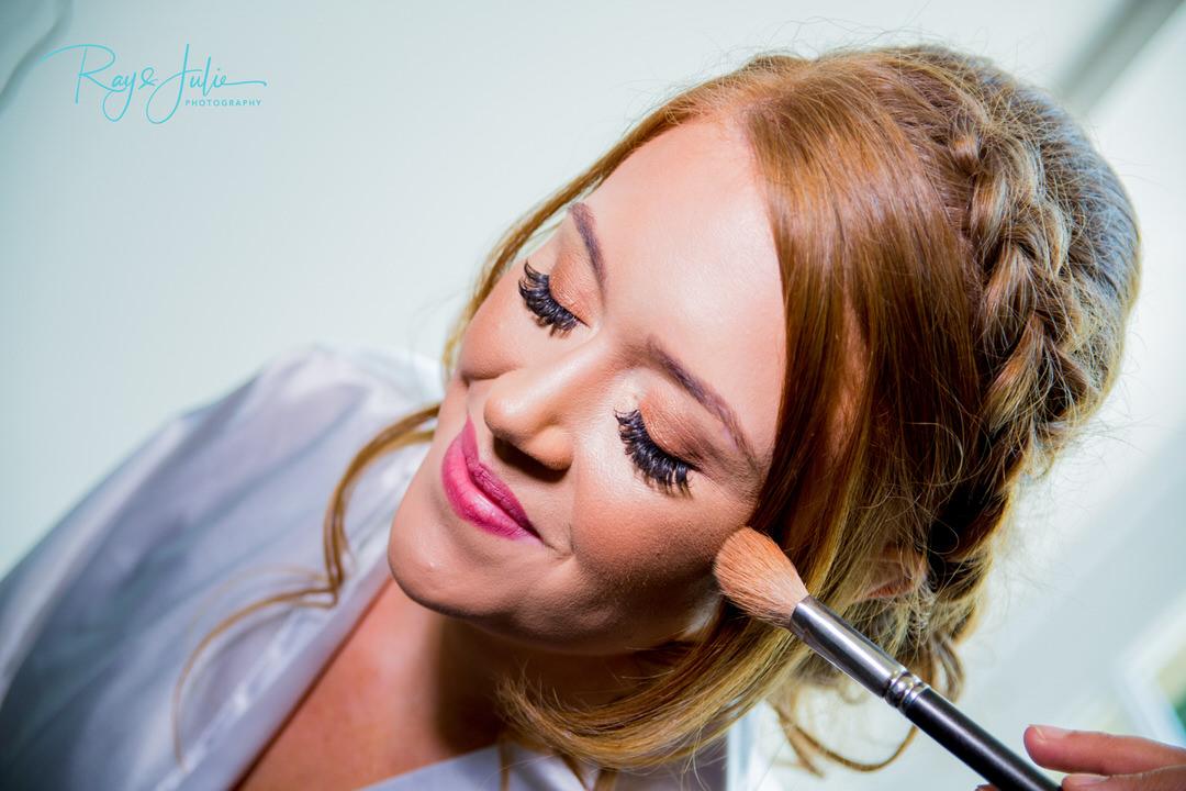 Bridal preparation hair and make up - Bridal prep - Ray and Julie Photography
