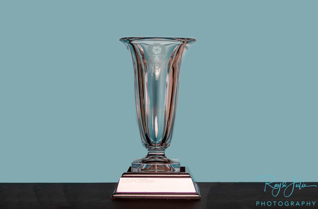 Vase - Trophy - National Portrait Awards - Photographer of the Year - Award - Trophy - Winner - Award-Winning - Photography