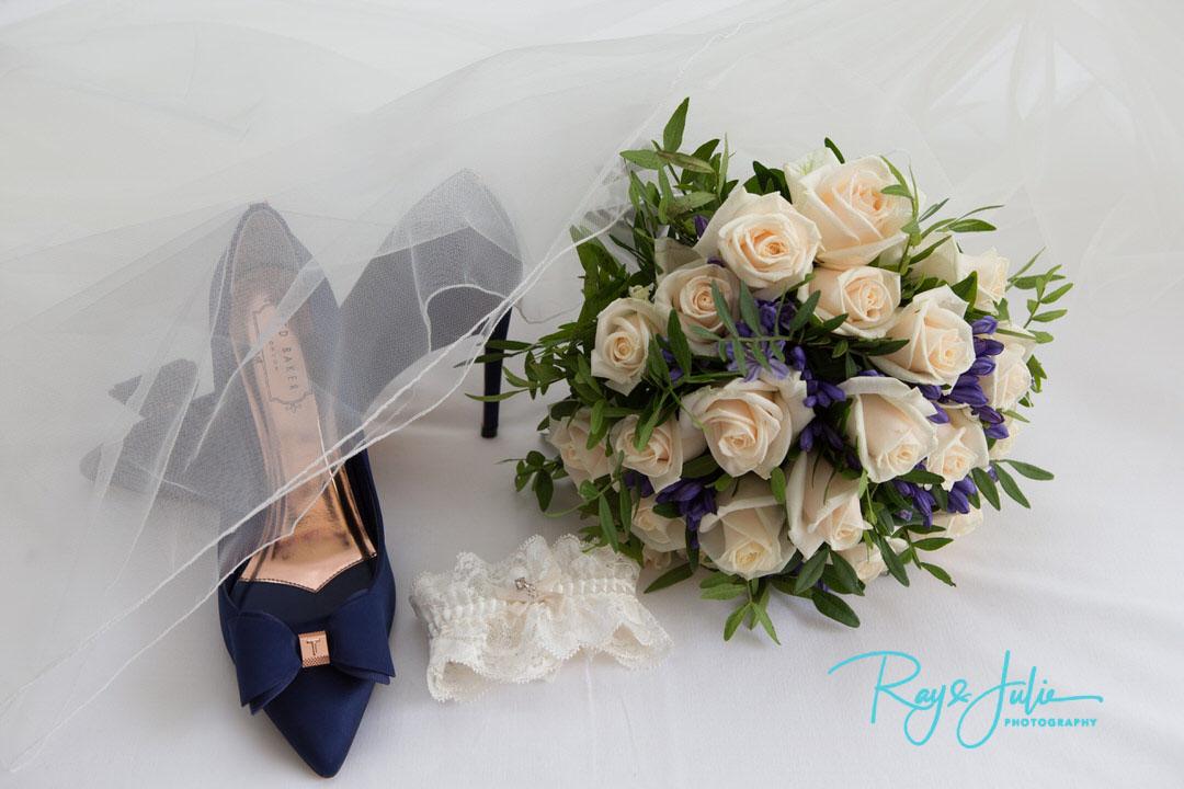 Detail wedding photos during bridal prep
