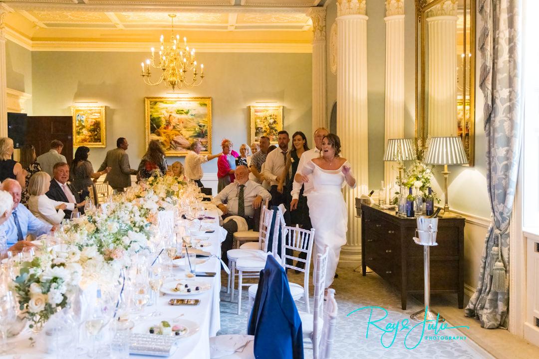 Wedding Conga at Grantley Hall