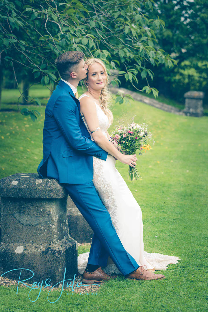Gorgeous bridal portrait taken at Tickton Grange by Ray and Julie Photography