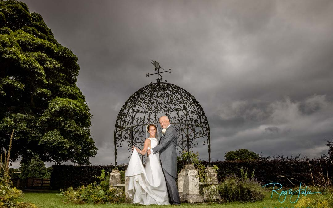 Bridal portrait Rowley Manor East Yorkshire